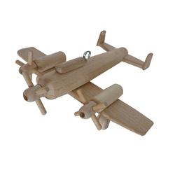 Avion tri moteur en bois à suspendre