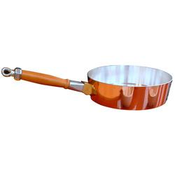 Sauteuse en cuivre étamé