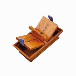 Panier en bois pour aiguilles / épingles