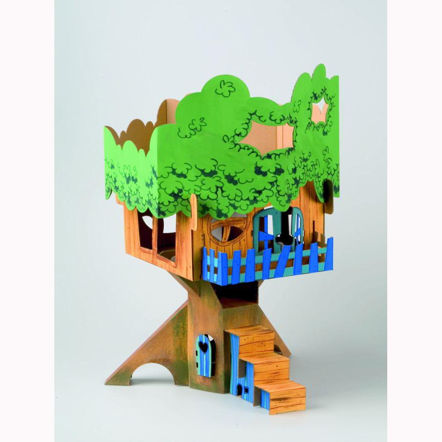 article arbre cabane en carton. Black Bedroom Furniture Sets. Home Design Ideas