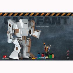 Robot à contruire en carton