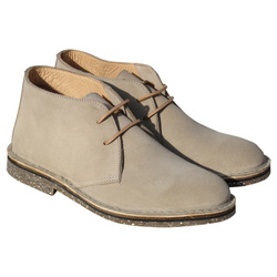 Chaussure Homme cuir velours