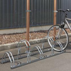 Râtelier 5 vélos sur 2 niveaux Mottez