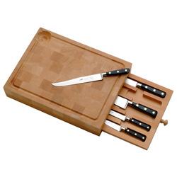 Planche à découper+5 couteaux
