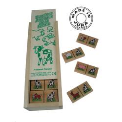 Boîte de dominos animaux de la ferme