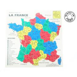 Puzzle en bois carte de France