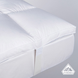 Surmatelas moelleux  1650 g/m² - grande hauteur 8 cm