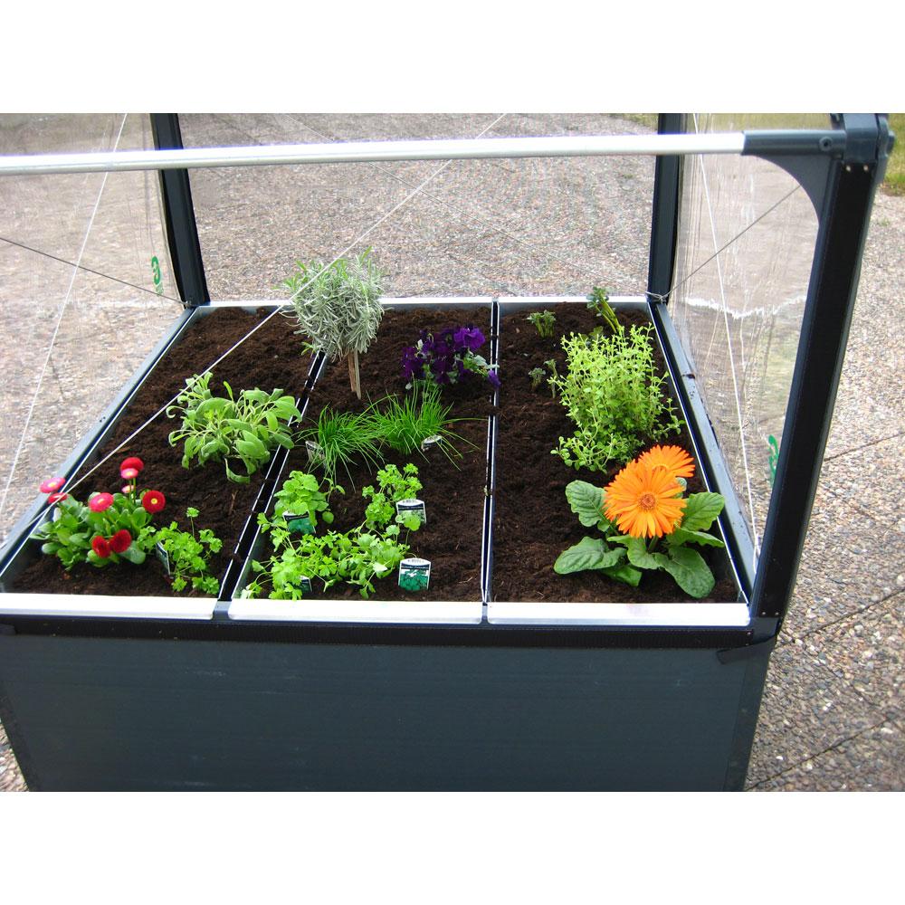article bac de plantation pour potager de jardin. Black Bedroom Furniture Sets. Home Design Ideas