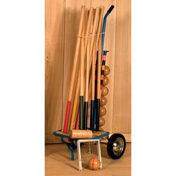 Jeu de croquet en bois chariot 8 joueurs
