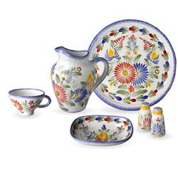 Vaisselle bretonne faïence Fleuri Royal