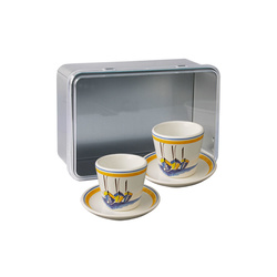 Coffret 2 tasses expresso Escale