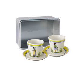 Coffret 2 tasses expresso Henriot