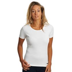 Tee-shirt uni femme, MC
