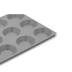 Elastomoule - 15 mini-tartelettes rondes