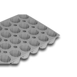 Elastomoule - 28 mini-cannelés bordelais