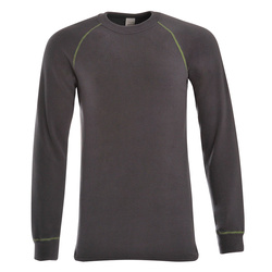 T-shirt manches longues, col rond, Homme