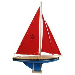 Voilier en bois navigable 64 cm Tirot
