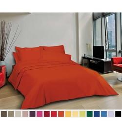 Linge de lit- toile coton coloris