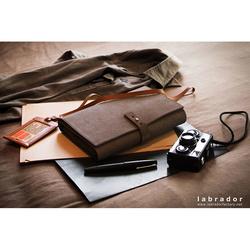 Porte carnet de notes, cartes et stylo
