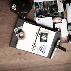 Carnet de notes - cuir recyclé