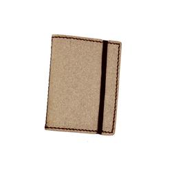 Porte-cartes - 24 cartes - cuir recyclé