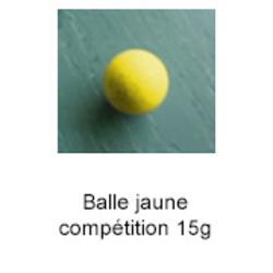 Lot de 3 balles - Compétition
