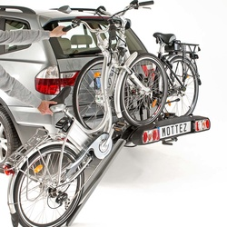 Porte-vélos électriques sur attelage