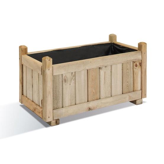 article bacs fleurs en bois vend me. Black Bedroom Furniture Sets. Home Design Ideas