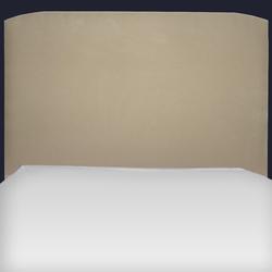 Tête de lit forme galbée