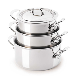 Cocottes M'cook couvercle inox