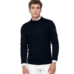 Pull homme col rond -