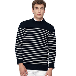 Pull rayé marin mixte traditionnel