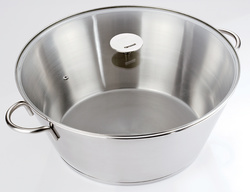 Bassine confiture inox