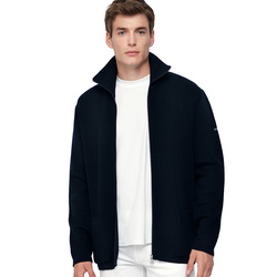 Gilet homme col montant