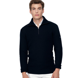 Pull homme col camionneur