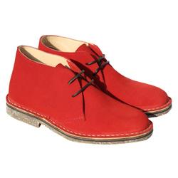 Desert boot femme cuir velours