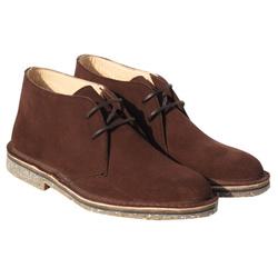 Desert Boot homme - cuir velours
