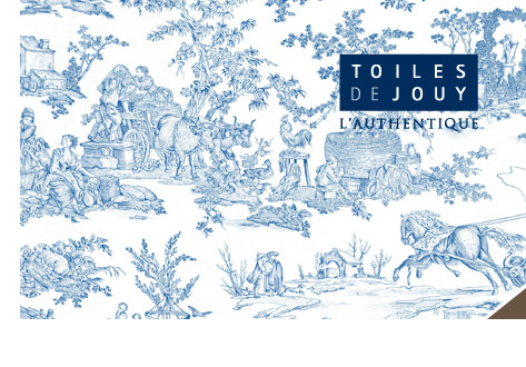 Toiles de jouy, l'authentique